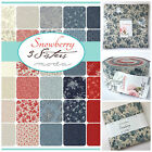 MODA Snowberry 100 % cotton, charm pack jelly roll layer cake for patchwork