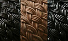 10MM BLACK BROWN NATURAL BRAIDED REAL LEATHER CORD THONG LACE 1M 5M 10M 20M