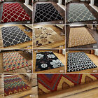 LARGE THICK HAND TUFTED WOOL MODERN SOFT QUALITY MODERN ELEMENT FUSION AZTEC RUG