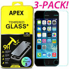 Premium Screen Protector Real Tempered Glass Film for iPhone SE 5 6s 7 Plus