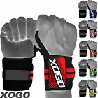 Power Weight Lifting Pro Wrist Wraps Supports Gym Training Fist Straps BLACK 13""