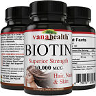 BIOTIN 10,000 MCG - Designed for Hair Growth, Strong Nails and Healthy Skin $5.95 USD on eBay