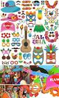60Pcs Luau Hawaii Photo Booth Props Tropical Summer Festivals Photobooth holiday