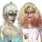 Smiffys Womens Zombie Froze To Death Or Bloody Alice Wig Halloween Fancy Dress