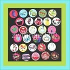 Precut assorted M2MG Made to Match GYMBOREE BOTTLE CAP IMAGES Variety 1 inch