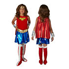 Rubies Kids Deluxe Official Licensed Wonder Woman DC Comics Fancy Dress Costume