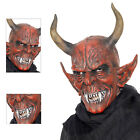 Smiffys Adults Latex Devil Demon Mask Halloween Fancy Dress Costume Accessory