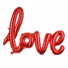 "5 10 15pc Red ""LOVE"" Letter Foil Balloon Anniversary Wedding Valentines Party"