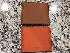 Michae Kors Billfold Orange Russel Wallet (Rare)