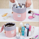 CHIC Women Makeup Drawstring Pouch Bucket Barrel Shaped Cosmetic Bag Travel Case