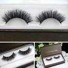 Pro 5 Pairs 100% Handmade Thick Real 3D Strip Mink Fur Long False Eyelash Makeup