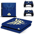 Dragon Quest 11 XI Sticker Cover For Sony PS4//Pro Console&Wireless Controllers