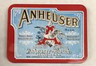 ANHEUSER-BUSH Brewing Company Classic Playing Cards (2 Decks) & Tin Case