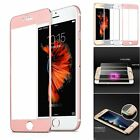 3D Full Coverage Metal Tempered Glass Flim Screen Protector For iPhone 6 6s Plus