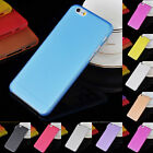 "For Apple 4.7"" iPhone 6  Matte 0.3mm Ultra Thin Back Plastic Case Cover Skin Hot"