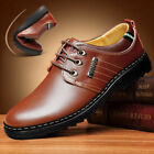 2017 Men's Casual Genuine Leather Shoes Gift Slip on Black Shoes