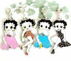 Betty Boop enamel clip on charm for necklace backpack purse handmade $5.99 USD