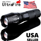 T6 Tactical Military LED 18650 Flashlight Torch 50000LM Zoomable 5Modes Zoomable