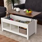 Home Room Lift Top Coffee Table with Hidden Storage Compartment Furniture US
