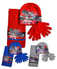 Boys Spider Man Hat Scarf And Glove Set New Kids Marvel Winter Sets Age 3-12 Yrs