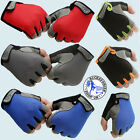 Cycling Glove Gloves Cycle Unisex Bike Bicycle Half Finger Less Anti Slip Mitts