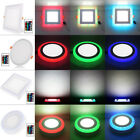 100-265V Surface/Recessed LED Ceiling Panel Down Light RGB Lamp+Controller CA6A