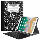 For iPad Pro 10.5 Keyboard Case Cover with Pencil Holder Bluetooth Keyboard
