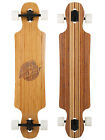 Two Bare Feet 'Hunter' 40in Dropthrough Bamboo Premium Longboard Skateboard