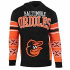 Forever Collectibles MLB Men's Baltimore Orioles Big Logo Hooded Sweater, Black