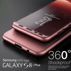 360° Shockproof Full Body Hybrid Hard Case Cover For Samsung Galaxy S7 Edge S8+