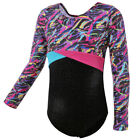 Купить UK Warehouse Girls Stretchy Gymnastics Leotard Shiny Ballet Dance Leotards 3-14Y
