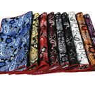 Men's Fashion Paisley Flower Pocket Square Handkerchief Wedding Party Hanky Gift