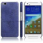 For HTC One X9 Business Crocodile Snake PU Leather Hard Case Cover Fashion Retro
