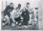 1962 Football Coach Bill McPeak Art Graham Lynn Amedee Bo Campbell Press Photo