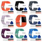 Replacement Silicon Wrist Band Strap Bracelet w/Tool For fitbit surge New