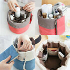 MAKEUP BAG COSMETIC CASE STORAGE BOX TRAVEL WASH TOILETRY BEAUTY ORGANIZER ACTUR