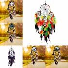 Indian Hanging Wall Dream catcher Feathers Wind Chimes Decor Gift
