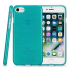 [Thin Fit] Shock Proof Brushed Effect TPU Gel Case Cover for Apple iPhone 7