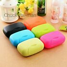 Внешний вид - Travel Soap Dish Box Case Holder Container Wash Shower Home Bathroom BOB Camping