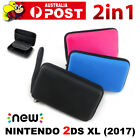 Hard Protective Carry Case + Screen Protector For New Nintendo 2DS XL/LL Console