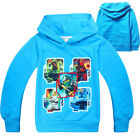 Baby Kids Boy Ninjago Spring Autumn Hoodie Long Sleeve Pullover Sweatshirt 4-10T