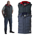 Duke D555 Mens Big Tall King Size Denver Hooded Bodywarmer Quilted Padded Gilet