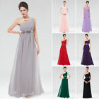 UK One-shoulder Long Bridesmaid Party Dress Cocktail Prom Gown 09770 Ever-pretty