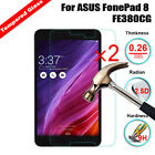 2X 9H+ Real Tempered Glass Protective Film HD Screen For ASUS MeMO Pad 7 ME176CX