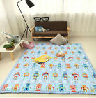 195x145CM Modern Extra Thick Large Kids Baby Children Activity Play Mat Gym Rug