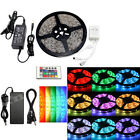 5M-100M 3528 5050 SMD/RGB 300 LED Strip Light Flexible Tape Roll Waterproof Xmas