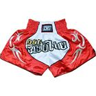 "ROT ""BLADE"" DUO GEAR MUAY-THAI SHORTS KICKBOXPANT THAIBOXPANT UK VERKÄUFER"