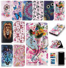 For iPhone X Relief Sculpture Pattern Card Slots Stand leather Wallet Case uk