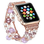 Pearl Beads Bracelet Watch Band Strap for iWatch Apple Watch Series 42/38mm