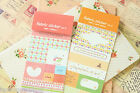 Fabric Sticker Ver 2 shabby chic cute adhesive diary planner label deco stickers